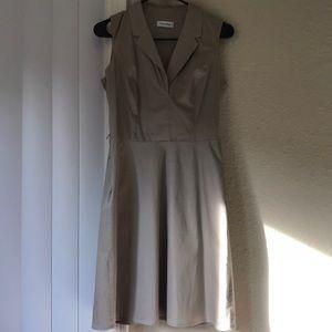 Calvin Klein blazer sleeveless dress NWOT